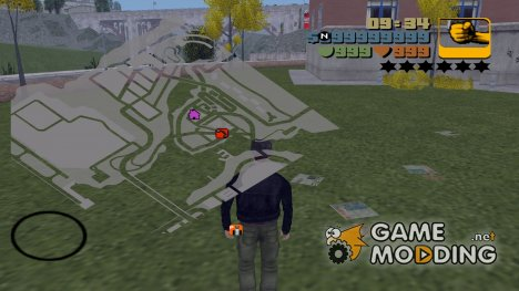 HQ Grey Radar для GTA 3