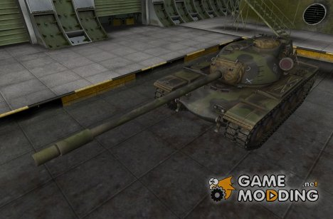 Ремоделинг для T110E5 для World of Tanks