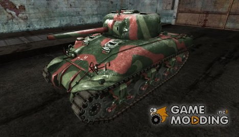 M4 Sherman от Hobo3x3 for World of Tanks