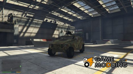 Hawkei PMV for GTA 5