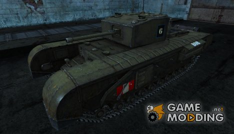 Черчилль от cynabal for World of Tanks