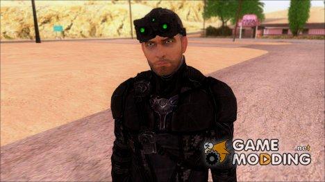 Sam Fisher Splinter Cell BlackList Mk. VIII Tac Suit Black Version for GTA San Andreas