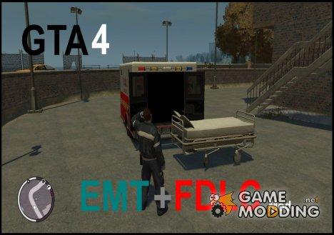 EMT + FDLC Script for GTA 4