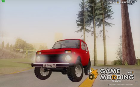 """ВАЗ 2121 """"Нива"""" for GTA San Andreas"""
