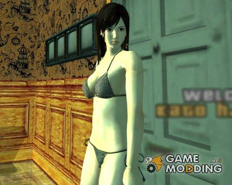 Kokoro в нижнем белье для GTA San Andreas