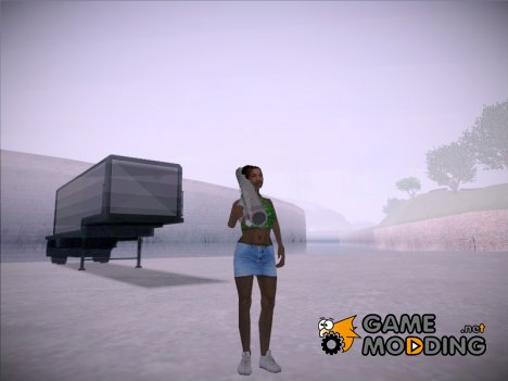 Kendl From Cutscene for GTA San Andreas
