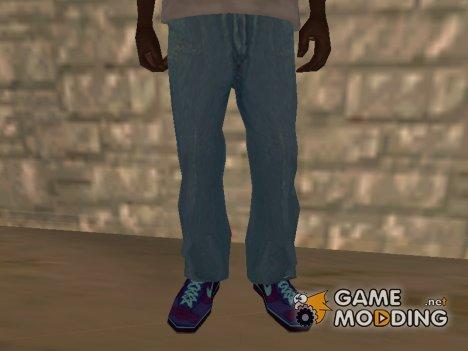 Светло-голубые джинсы для GTA San Andreas