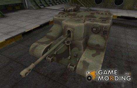 Пустынный скин для AT 15 для World of Tanks