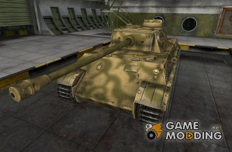 Мини ремоделинг со шкуркой для Pz V Panther for World of Tanks