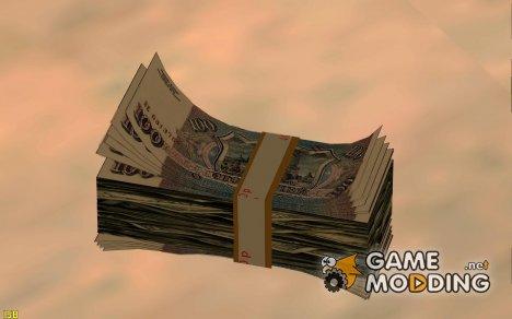 Рубли вместе с долларами для GTA San Andreas
