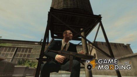 Пистолет-пулемёт MP5 v.2 для GTA 4