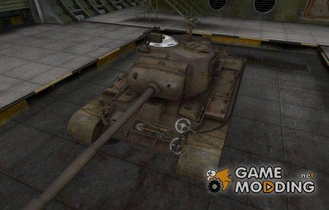 Зоны пробития контурные для M46 Patton для World of Tanks