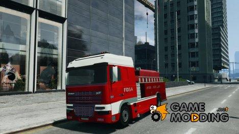 DAF XF Firetruck для GTA 4