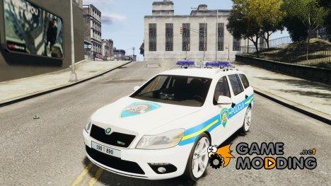 Skoda Octavia Policija (Croatian police) [ELS] для GTA 4