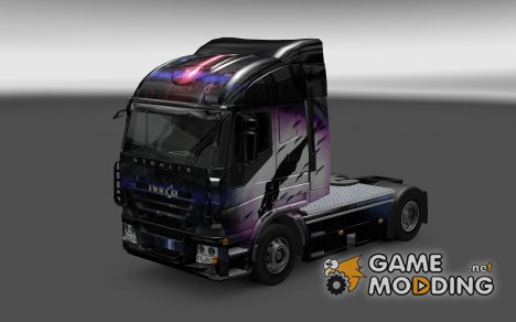 Скин Reaper для Iveco Stralis для Euro Truck Simulator 2