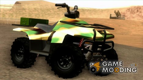 Army Edition ATV for GTA San Andreas