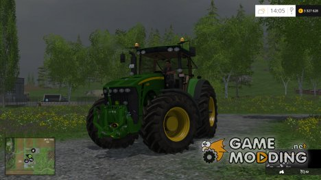 John Deere 8530 v5 for Farming Simulator 2015