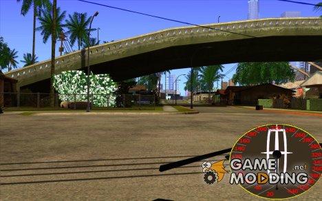 Новый спидометр Lincoln for GTA San Andreas