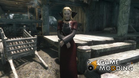Queen of the Damned Dress for TES V Skyrim