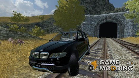 BMW X5 v 1.1 for Farming Simulator 2013