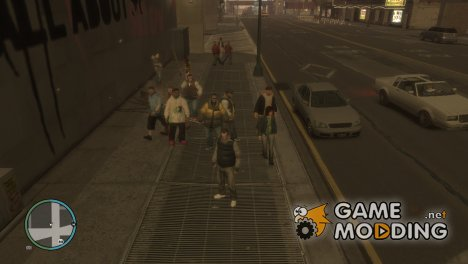 Жители мегаполиса for GTA 4