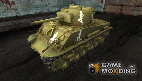 M4A3 Sherman от jimk for World of Tanks