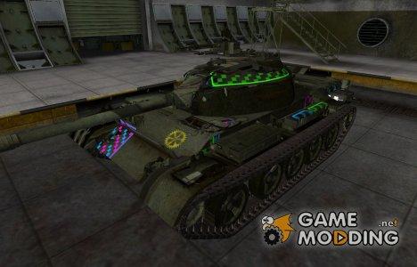 Качественные зоны пробития для Type 62 для World of Tanks