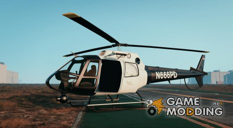 Police Maverick Mapped 1.0.0 for GTA 5