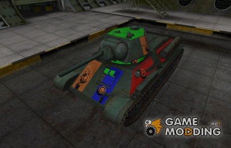 Качественный скин для Type T-34 для World of Tanks