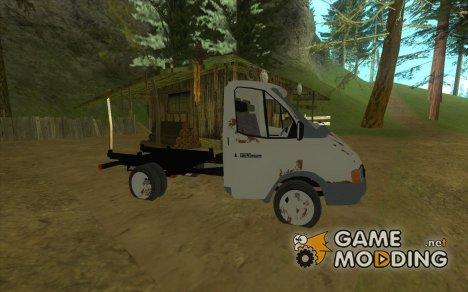 Кузов ГАЗели for GTA San Andreas