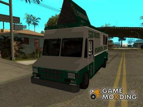 Starbucks Coffee Van из GTA 5 for GTA San Andreas