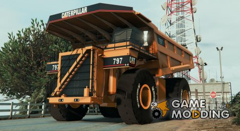 CAT 797 Dumper 2.0 for GTA 5