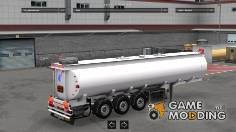 Mammut 3axle tuning for Euro Truck Simulator 2