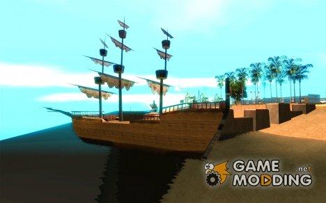 Пиратский корабль for GTA San Andreas