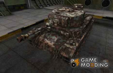 Горный камуфляж для VK 30.01 (P) для World of Tanks
