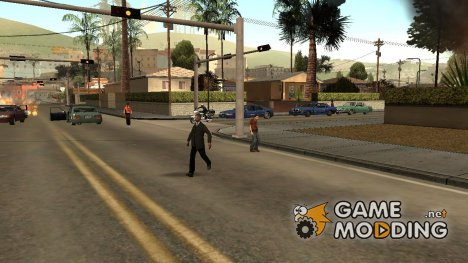 Zombies v2 для GTA San Andreas