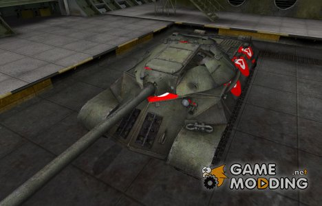 Зона пробития для ИС-3 for World of Tanks