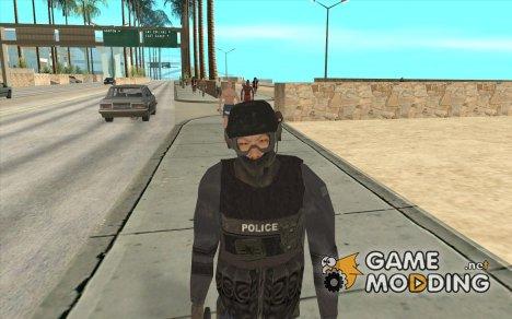 Спецназовец из SWAT 4 для GTA San Andreas