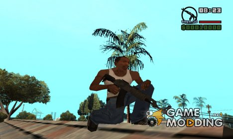 AK 47 modern for GTA San Andreas