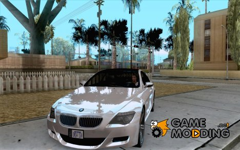 BMW M6 MotoGP SafetyCar for GTA San Andreas