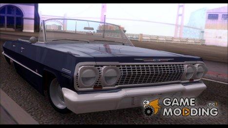 Chevrolet Impala 1963 for GTA San Andreas