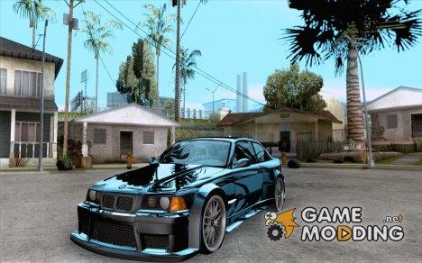 BMW M3 E36 1994 с новыми винилами для GTA San Andreas