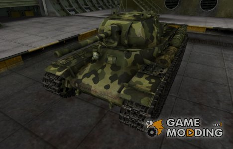 Скин для КВ-13 с камуфляжем for World of Tanks