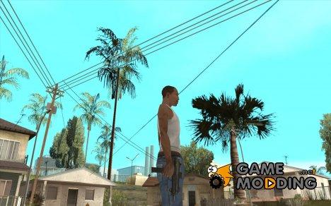 New Micro uzi HD для GTA San Andreas