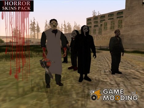 Персонажи ужасов для GTA San Andreas