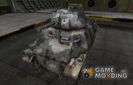 Камуфлированный скин для PzKpfw S35 739 (f) for World of Tanks