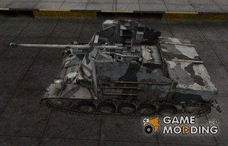 Шкурка для немецкого танка Marder II для World of Tanks