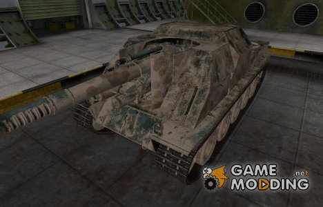 Французкий скин для Lorraine 155 mle. 51 для World of Tanks