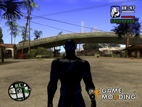 Zoom из сериала флеш for GTA San Andreas
