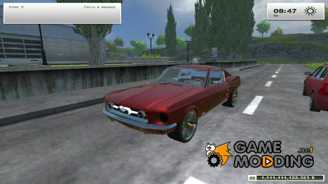 Ford Mustang 1965 v 2.0 for Farming Simulator 2013